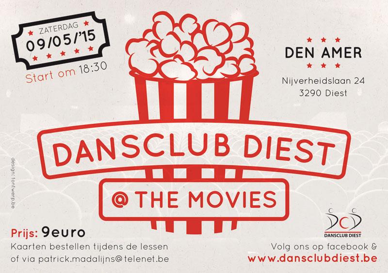 Dansclub Diest flyer