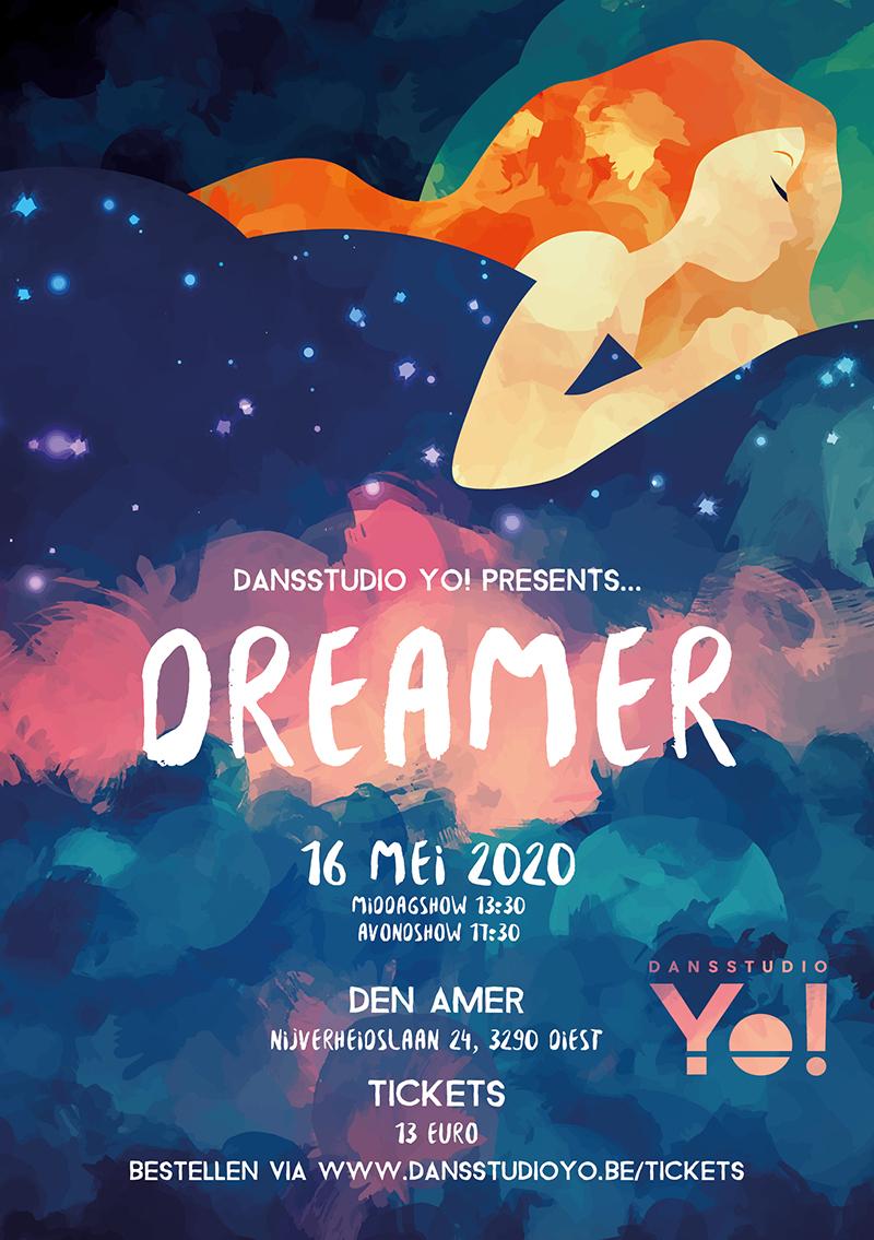 Dansstudio Yo! flyer