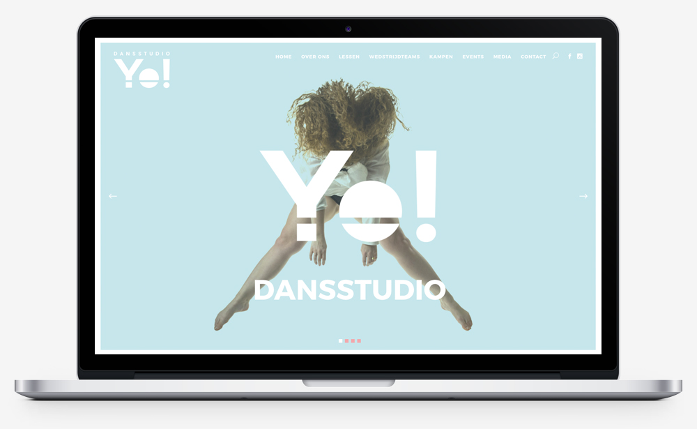 Dansstudio Yo! website