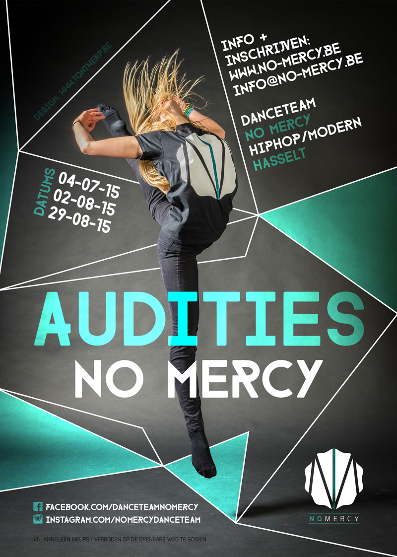 NO MERCY flyer