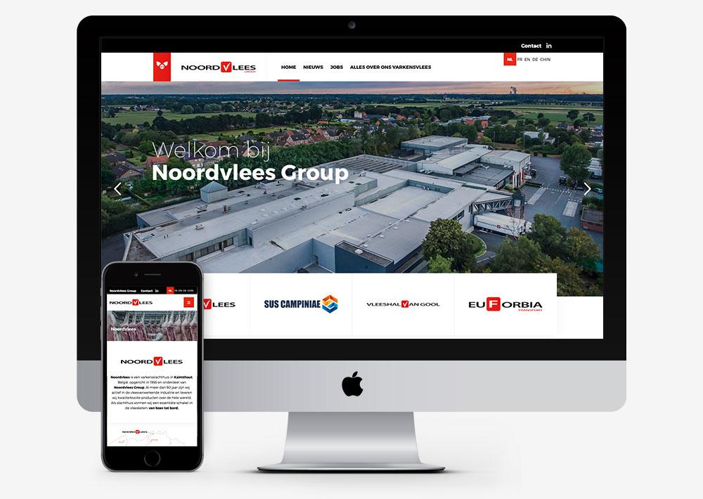 Noordvlees website