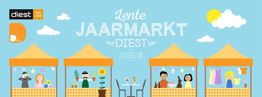 Stad Diest Lentejaarmarkt