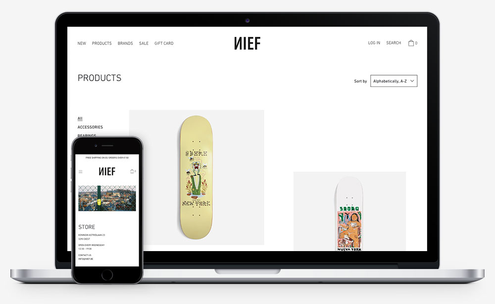 NIEF website