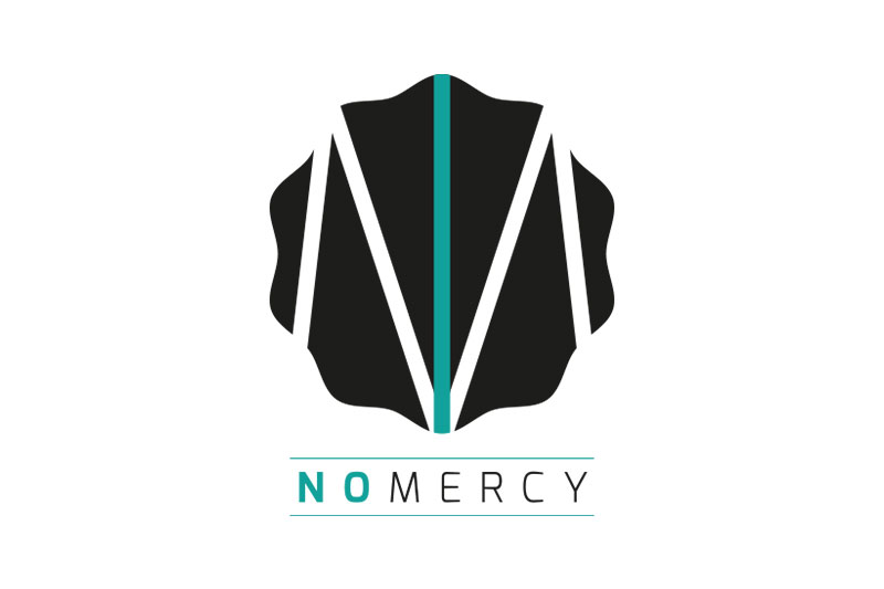 NO MERCY logo