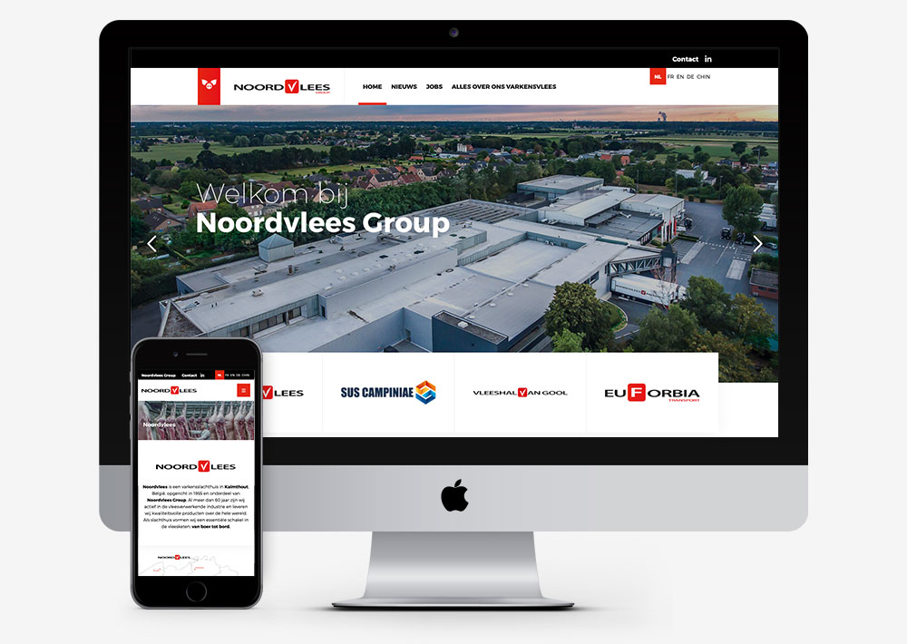 Noordvlees website