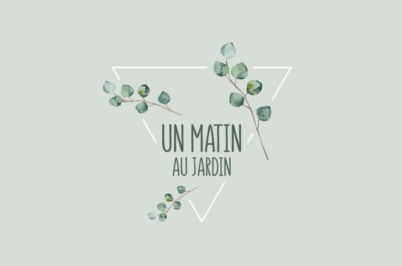 Un Matin Au Jardin logo